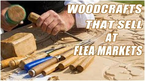 Wood Project Plans To Sell At Flea Markets