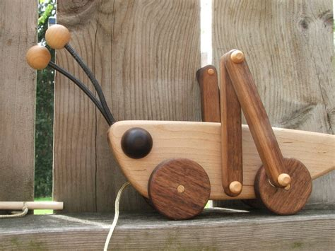Wood Pull Toy Plans