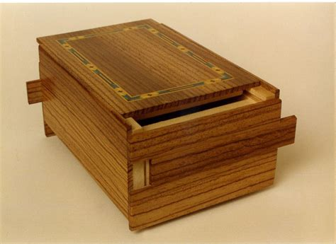 Wood Puzzle Box Plans Free Download