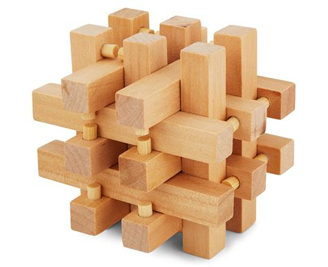 Wood Puzzles Brain Teasers Plans