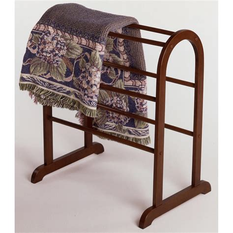 Wood Quilt Display Rack