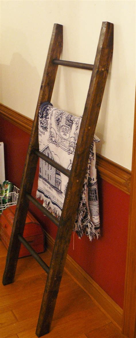 Wood Quilt Ladder