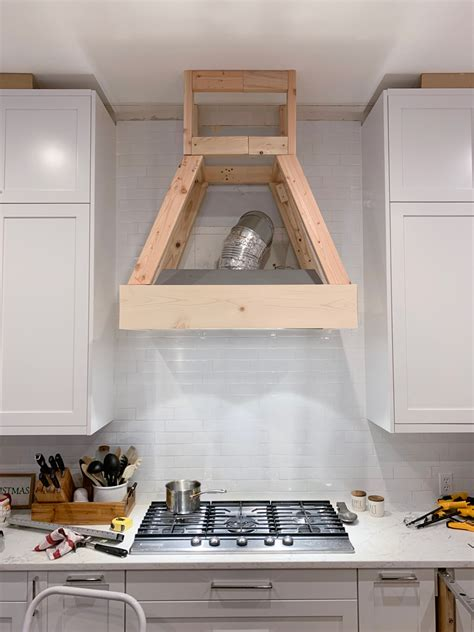 Wood Range Hood Cover Plans