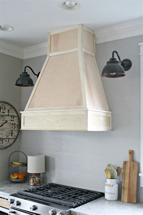 Wood Range Hood Diy