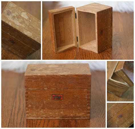 Wood Recipe Box Plans Easy