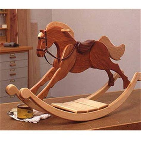 Wood Rocking Horse Plans And Kits