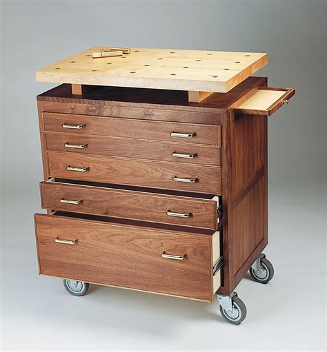 Wood Rolling Tool Cabinet Plans