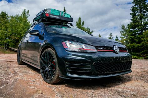 Wood Roof Rack Diy Mk6 Jetta Wheels