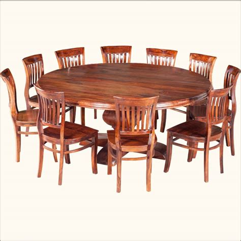Wood Round Table For Eight People Diy