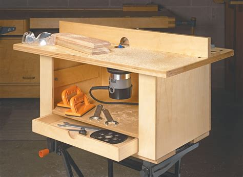 Wood Router Table Design Plans