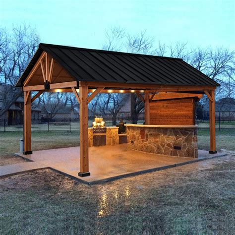 Wood Shade Shelter Plans