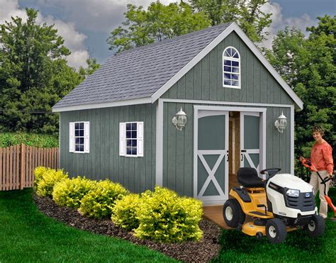 Wood Shed Kit Plans