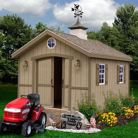 Wood Shed Kits 10 X 12