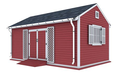 Wood Shed Plans 12x20