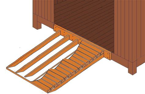 Wood Shed Ramp Plans
