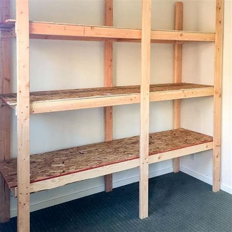Wood Shelf Plans DIY