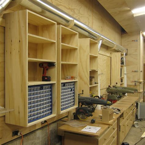 Wood Shop Shelving