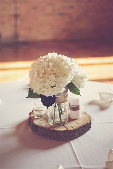 Wood Slices For Wedding Centerpieces Diy Simple