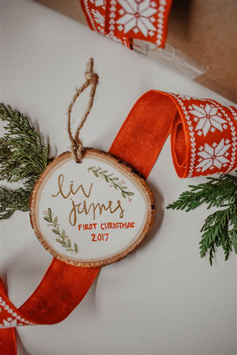 Wood Slices Ornaments Diy