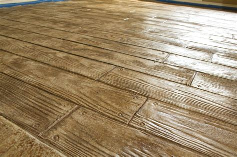 Wood Stamped Concrete Diy Supply List