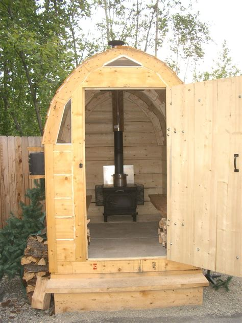 Wood Steamer Diy Sauna