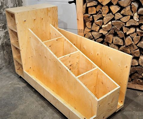 Wood Storage Cart Plans Videos