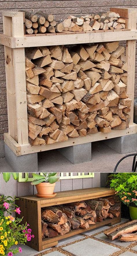 Wood Storage Ideas Diy