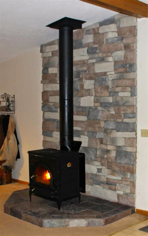 Wood Stove Hearth DIY