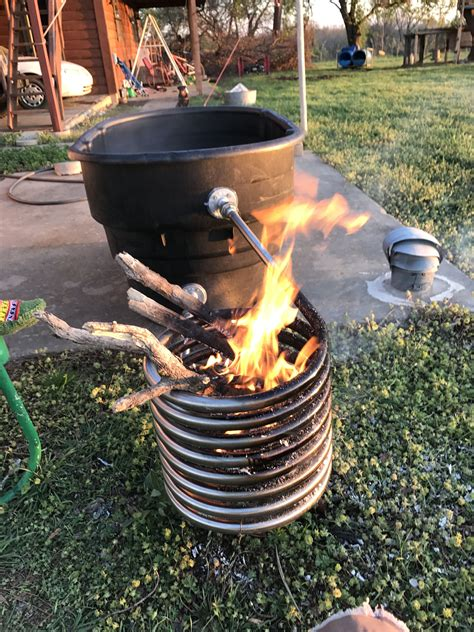 Wood Stove Hot Tub Diy Cover