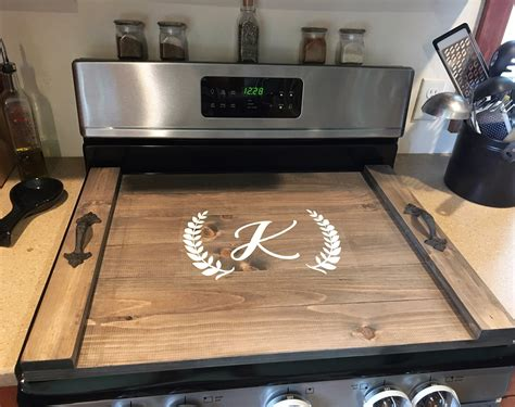 Wood Stove Top Cover Diy