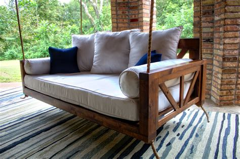 Wood Swing Bed Plans