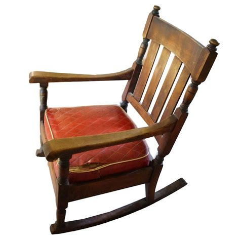 Wood Swivel Rocker Vintage Antique Chair Pads Plans