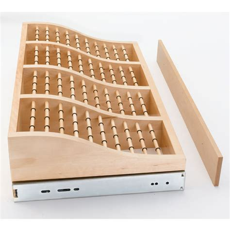 Wood Tie Rack Plans