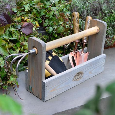 Wood Tool Carrier Decorating
