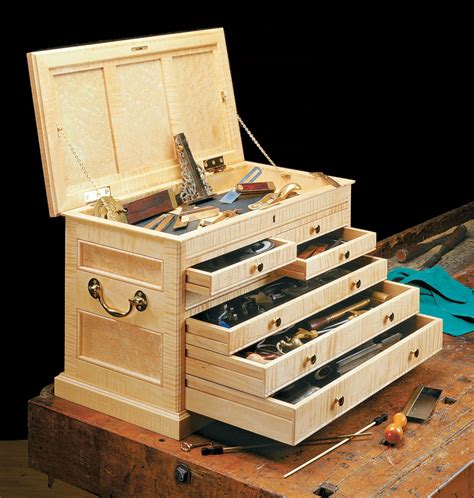 Wood Tool Chest Plans