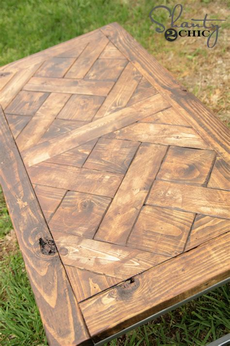 Wood Top Table Diy