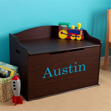 Wood Toy Chests For Boys