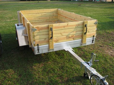 Wood Trailer Side Plans