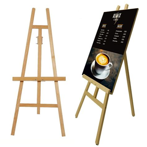 Wood Tripod Easel Plans