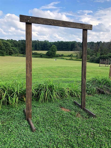 Wood Wedding Arch Plans