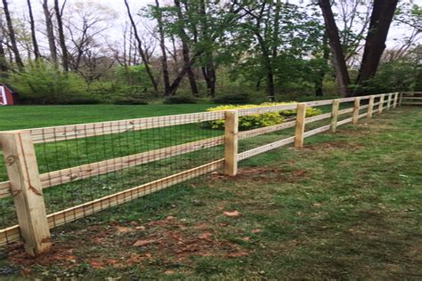 Wood Welded Wire Dog Fence Plans