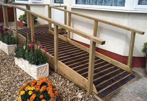 Wood Wheelchair Ramp Plans