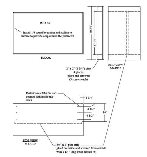 Wood Whelping Box Plans Plans