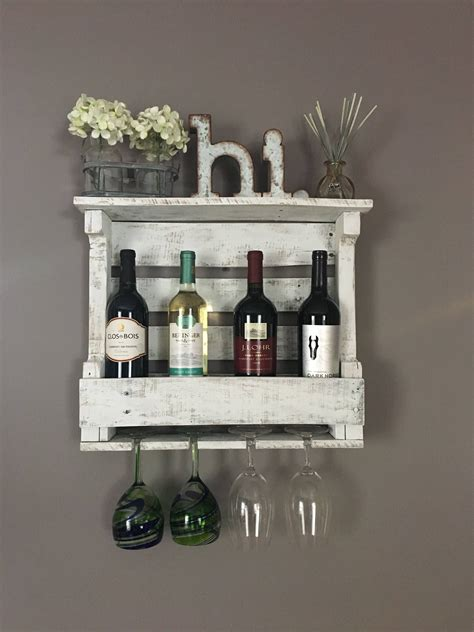 Wood Wine Rack Shelf Diy