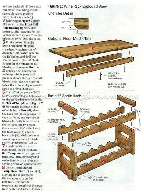 Wood Wine Rack Workbench Plans Build A Workbench