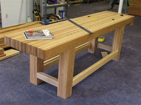 Wood Workbench Top Plans