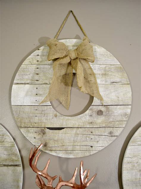 Wood Wreath Diy