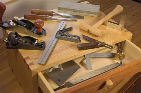 Wood furniture building tools Image