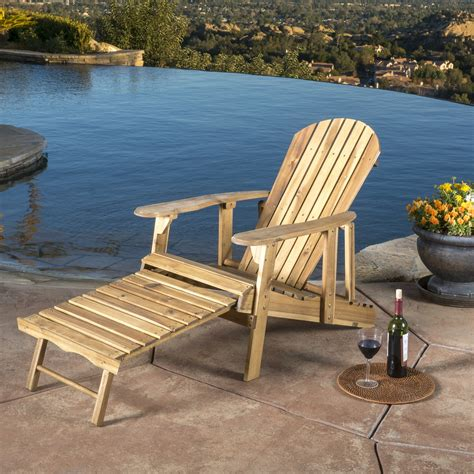 Wood-Adirondack-Chairs-With-Footrest