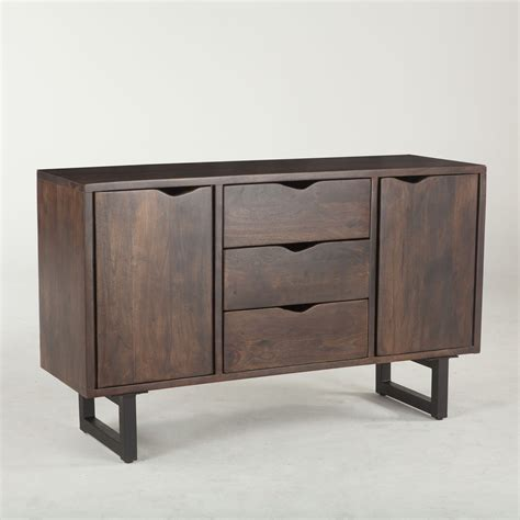 Wood-And-Metal-Buffet